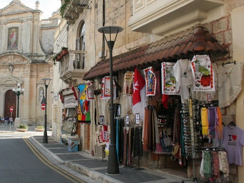 Compras em Malta