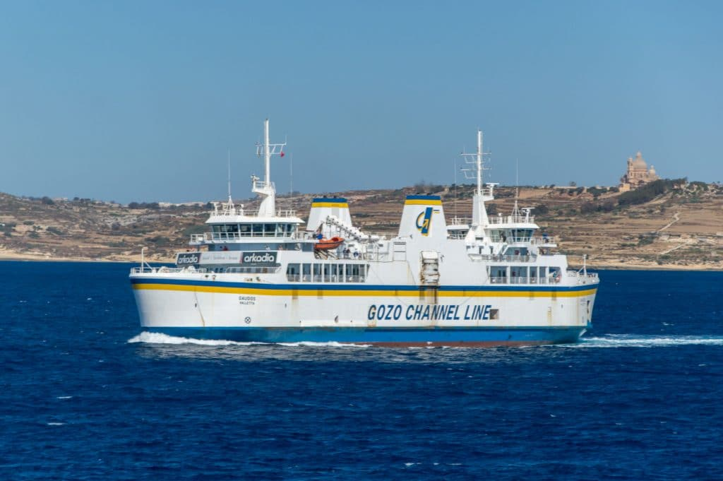 Ferry-boat in  Malta