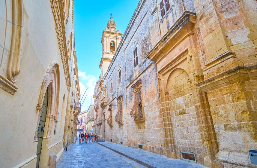 Mdina historical city in Malta