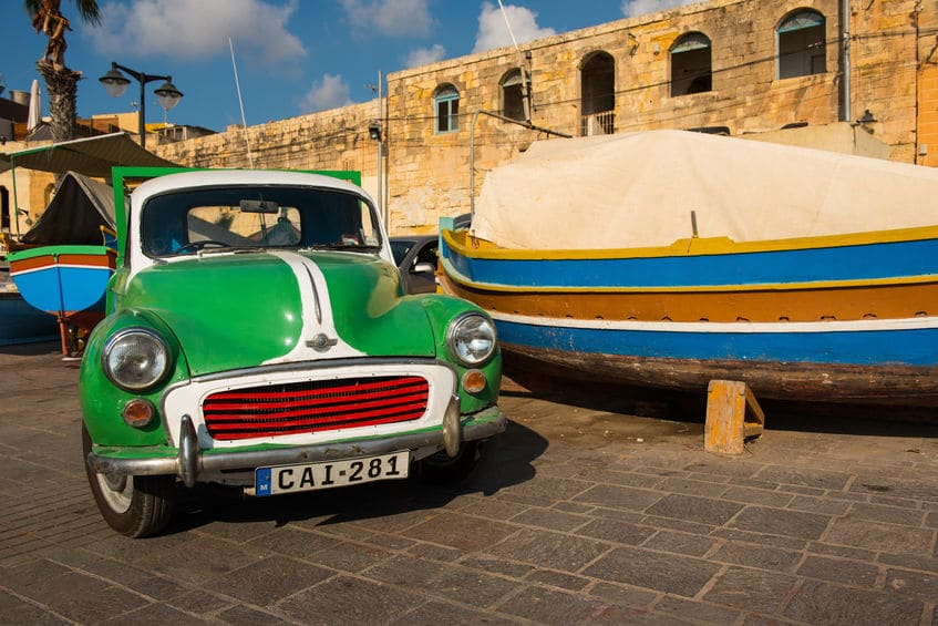 Rent-a-Car in Malta