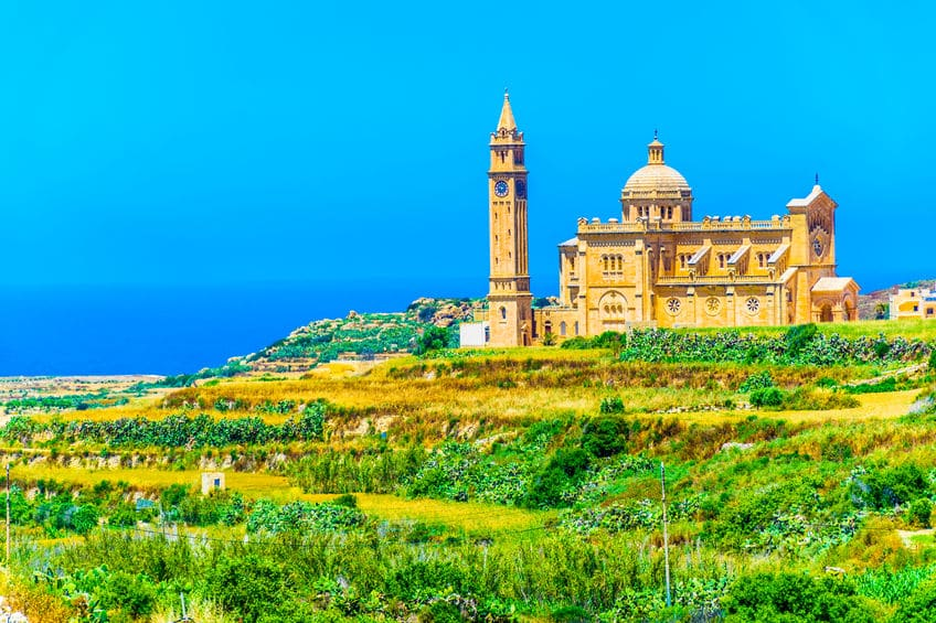 Ta Pinu Sanctuary in Gozo