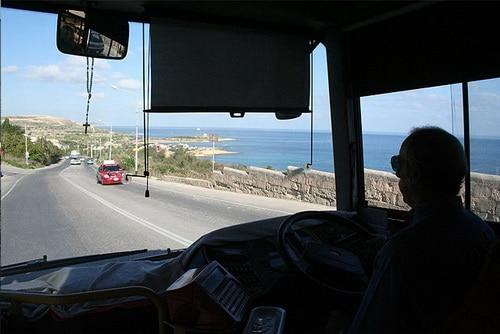Bus, Gozo island Malta