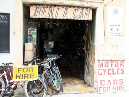 Rent a bicycle Gozo Malta